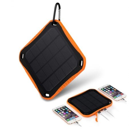 Sungzu Solar Charger Power Bank 5600mAh - OneThing Gr  (6)