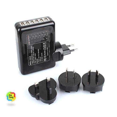 6 Ports USB Travel Wall Charger (3)