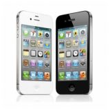 Apple iPhone 4S black/white by OneThing_Gr