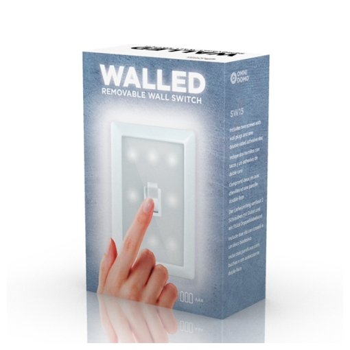 Walled SW15 portable LED light with switch (5)