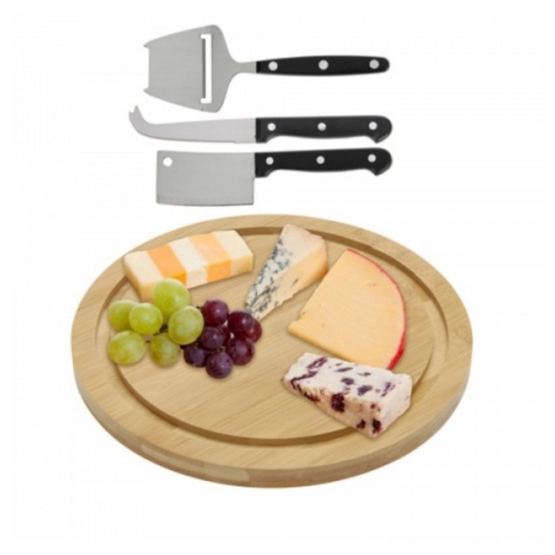 bamboo cheese board and knife (1)