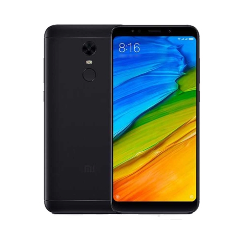 Xiaomi Redmi 5 Plus 4G 32GB Dual-SIM black EU – OneThing_Gr