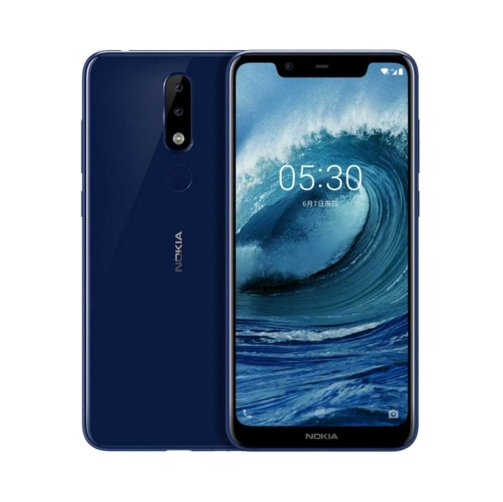 Nokia 5.1 Plus 4G 32GB (3GB Ram) Dual-Sim Blue EU – OneThing_Gr