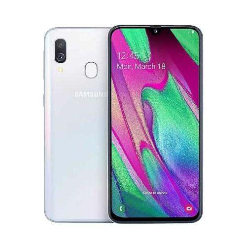 Samsung A405 Galaxy A40 4G 64GB Dual-SIM white EU – OneThing_Gr