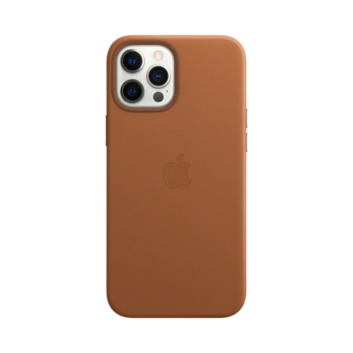 iPhone 12 Pro Max Leather Case with MagSafe – Saddle Brown (5) OneThing_Gr